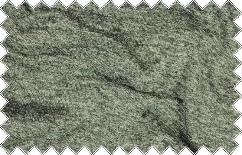 Středně šedá melírovaná svetrovina , š.160 cm