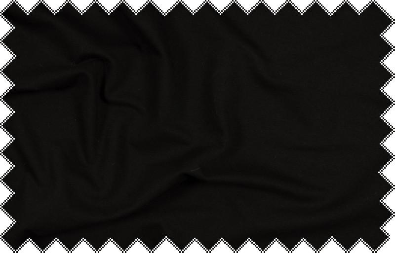 Černá elastická silnější teplákovina