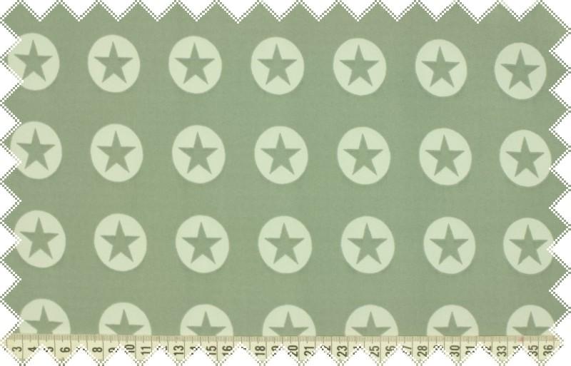 Světle šedý SOFTSHELL s hvězdičkami