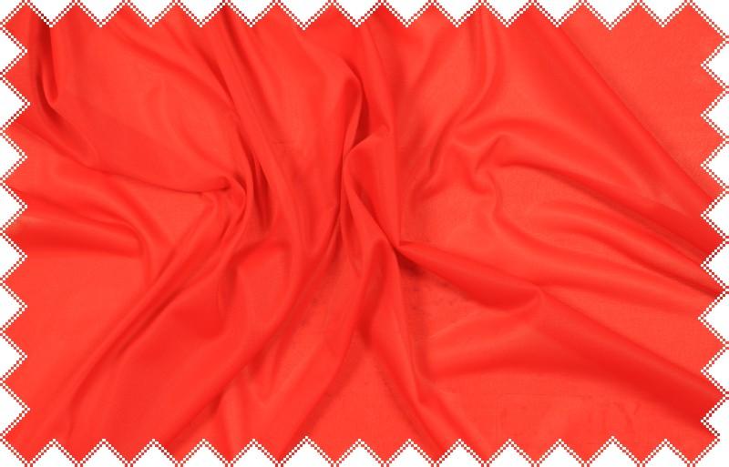 Červená úpletová elastická podšívka, š.155 cm