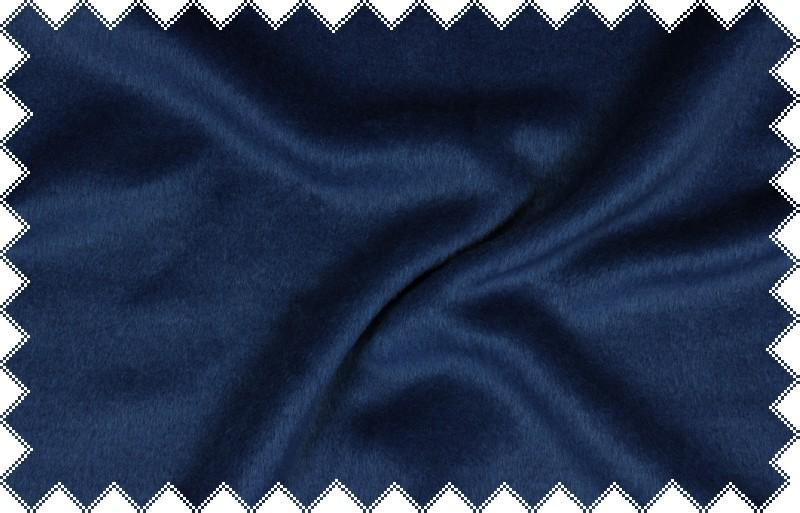 Středně modrý flauš,š. 150 cm